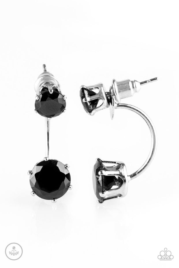 "Paparazzi ""Starlet Squad"" BLACK POST Earrings - Glitzygals5dollarbling Paparazzi Boutique"