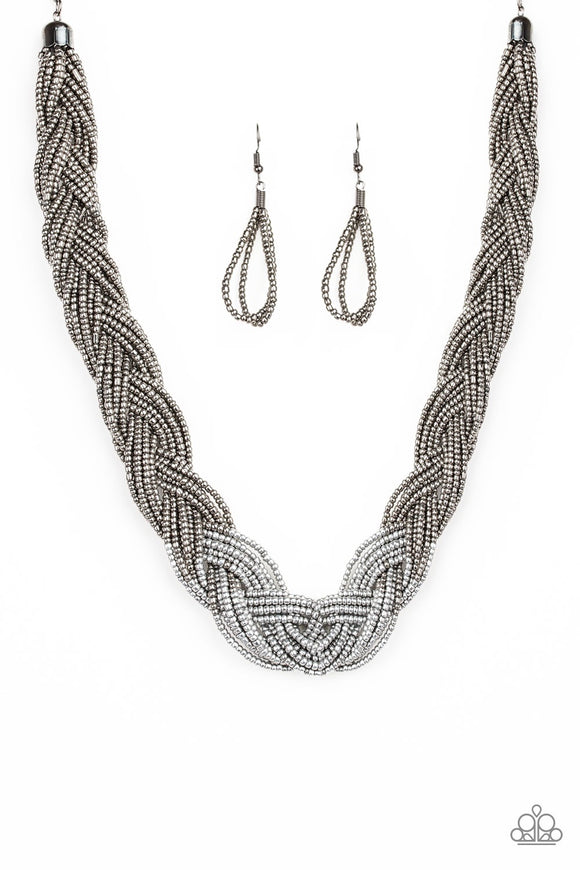 Brazilian Brilliance Silver Necklace