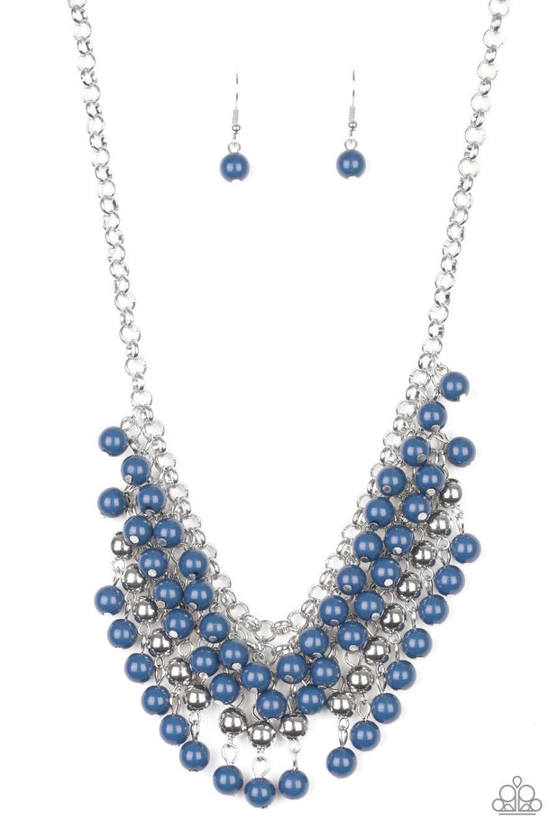 Jubilant Jingle - blue - Paparazzi necklace - Glitzygals5dollarbling Paparazzi Boutique