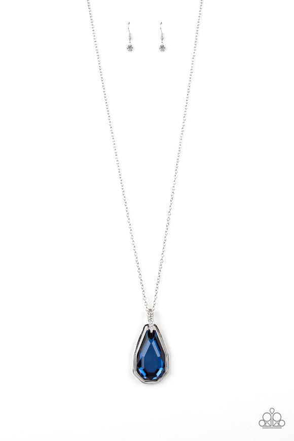 Paparazzi Maven Magic Blue Necklace