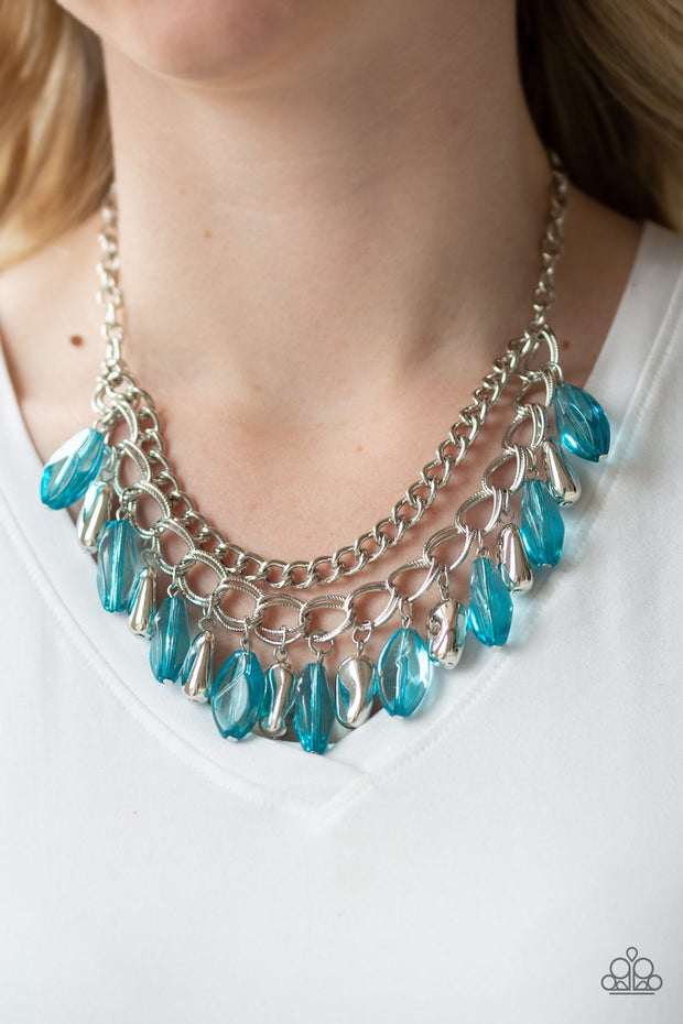 "Paparazzi ""Spring Daydream"" Blue Necklace - Glitzygals5dollarbling Paparazzi Boutique"