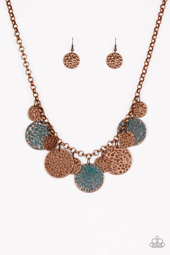 Paparazzi Treasure Huntress Copper Necklace