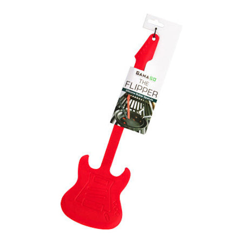 Flipper Guitar Spatula - Red | Cookie Jar - Home of the Coolest Gifts, Toys & Collectables