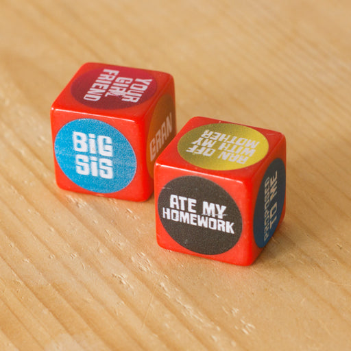 Excuse Dice | Cookie Jar - Home of the Coolest Gifts, Toys & Collectables