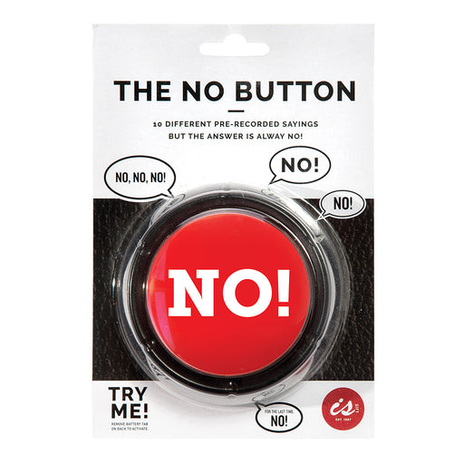 The No! Button | Cookie Jar - Home of the Coolest Gifts, Toys & Collectables