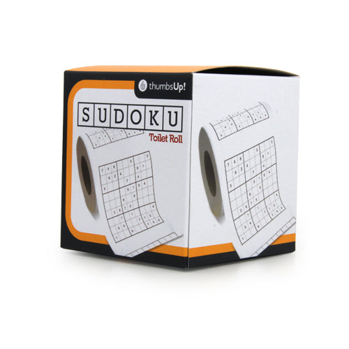 Sudoku Toilet Roll | Cookie Jar - Home of the Coolest Gifts, Toys & Collectables