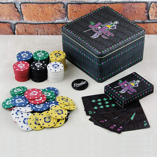 DC Comics The Joker Poker Set | Cookie Jar - Home of the Coolest Gifts, Toys & Collectables