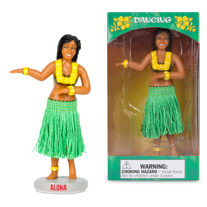 Archie McPhee -  Dancing Dashboard Hula Girl | Cookie Jar - Home of the Coolest Gifts, Toys & Collectables
