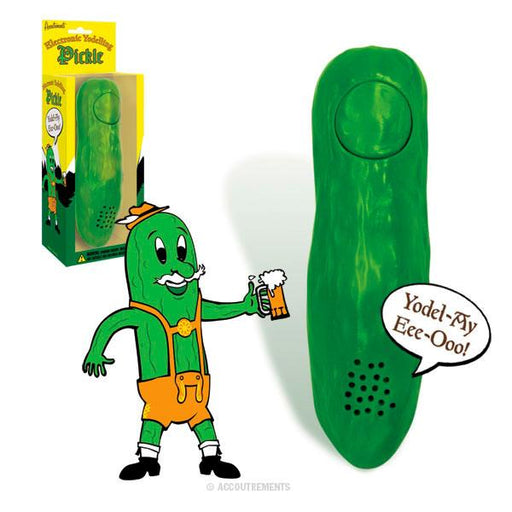 Archie McPhee - Yodelling Pickle | Cookie Jar - Home of the Coolest Gifts, Toys & Collectables