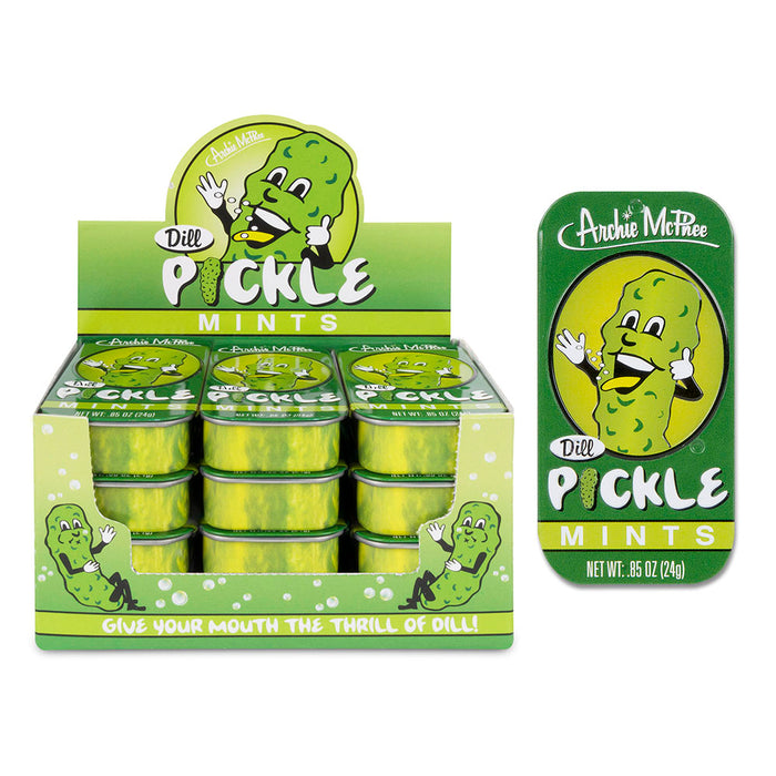 Archie McPhee - Dill Pickle Mints | Cookie Jar - Home of the Coolest Gifts, Toys & Collectables
