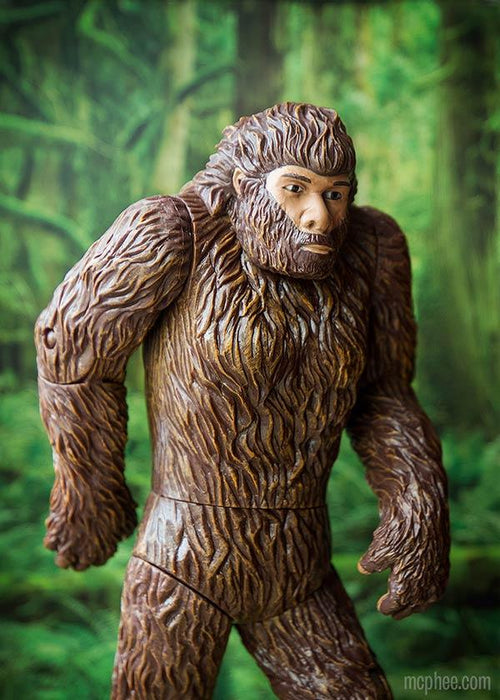 Archie McPhee - Bigfoot Action Figure | Cookie Jar - Home of the Coolest Gifts, Toys & Collectables