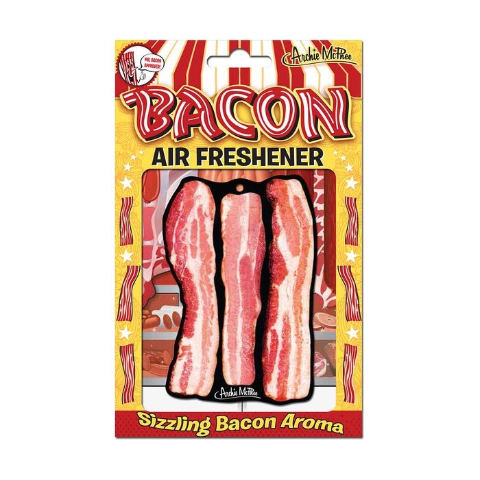 Archie McPhee -  Bacon Air Freshener | Cookie Jar - Home of the Coolest Gifts, Toys & Collectables