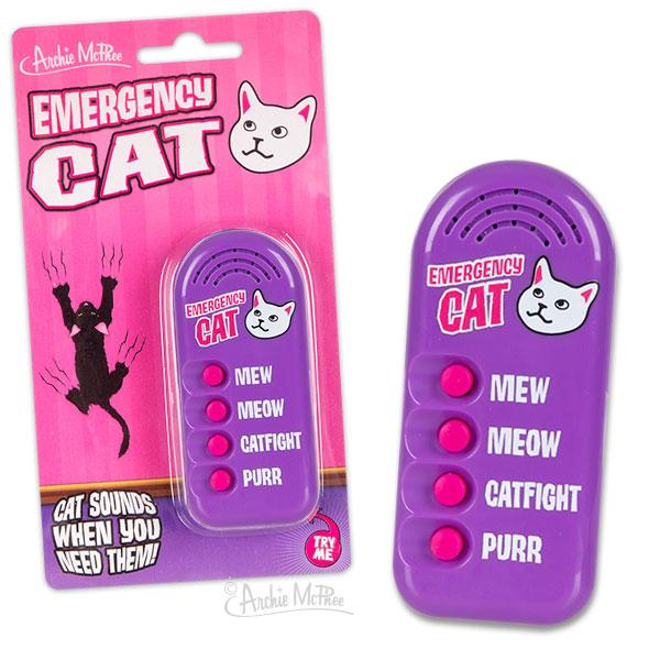 Archie McPhee - Emergency Cat | Cookie Jar - Home of the Coolest Gifts, Toys & Collectables