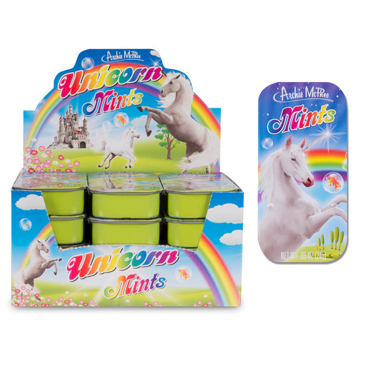 Archie McPhee - Unicorn Mints | Cookie Jar - Home of the Coolest Gifts, Toys & Collectables