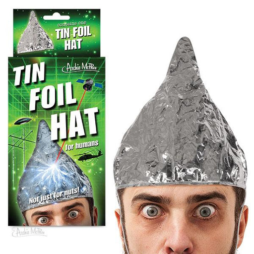 Archie McPhee - Tin Foil Hat | Cookie Jar - Home of the Coolest Gifts, Toys & Collectables