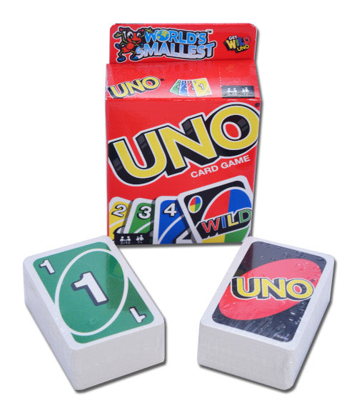 World's Smallest Uno | Cookie Jar - Home of the Coolest Gifts, Toys & Collectables