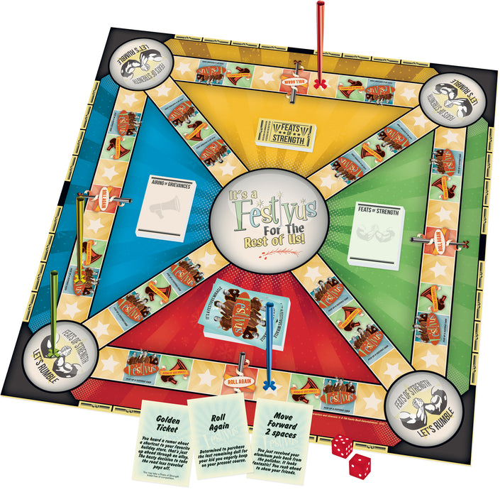Seinfeld Festivus Board Game | Cookie Jar - Home of the Coolest Gifts, Toys & Collectables