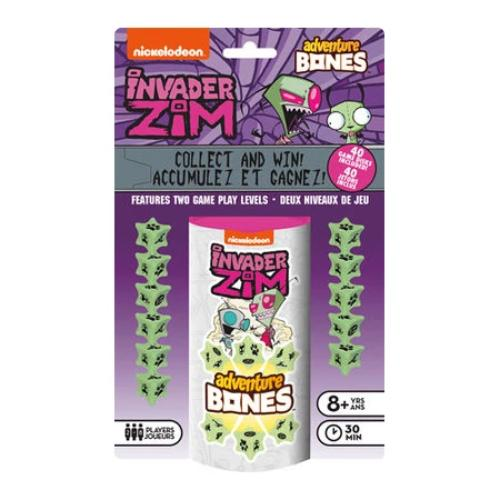 Nickelodeon - Invader Zim Adventure Bones Dice Game | Cookie Jar - Home of the Coolest Gifts, Toys & Collectables