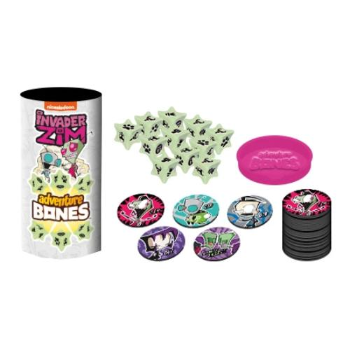 Nickelodeon - Invader Zim Adventure Bones Dice Game