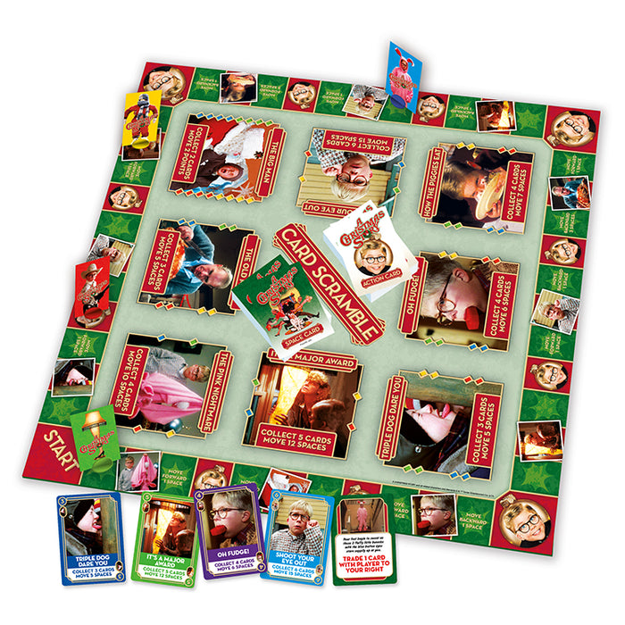 A Christmas Story Card Scramble Game | Cookie Jar - Home of the Coolest Gifts, Toys & Collectables