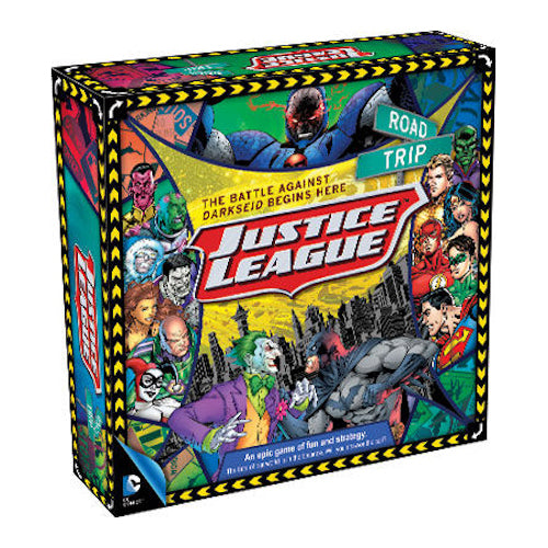 DC Comics Justice League Road Trip Board Game | Cookie Jar - Home of the Coolest Gifts, Toys & Collectables