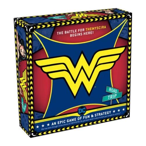 Wonder Woman Road Trip Board Game | Cookie Jar - Home of the Coolest Gifts, Toys & Collectables