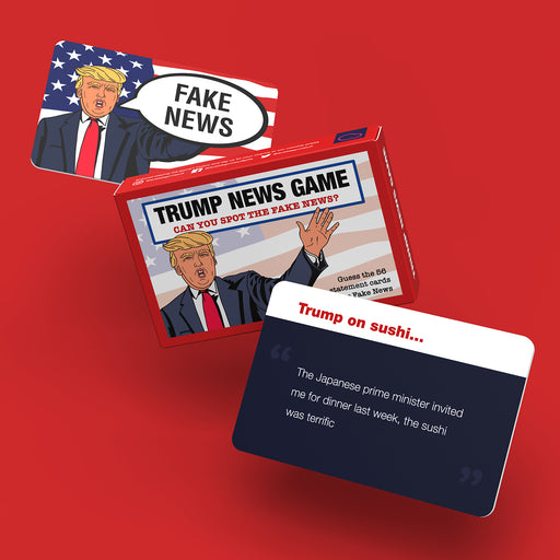 Bubblegum Stuff - Fake News Game - Trump Edition | Cookie Jar - Home of the Coolest Gifts, Toys & Collectables