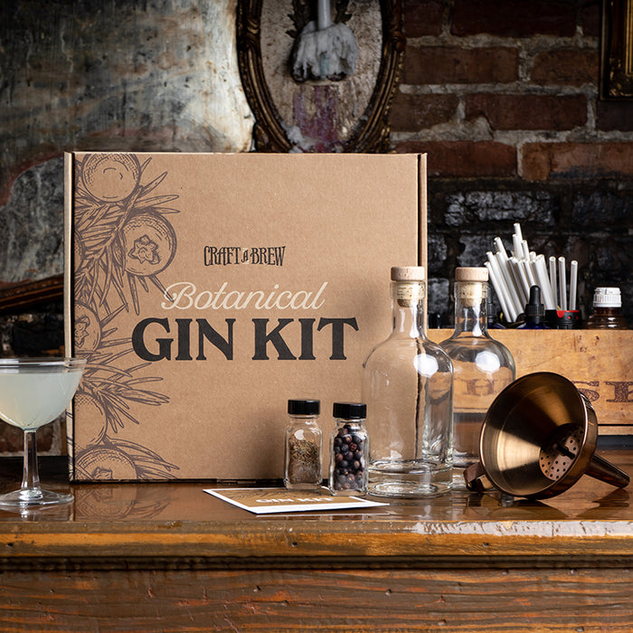 Craft A Brew – Handcrafted Botanical Gin Kit | Cookie Jar - Home of the Coolest Gifts, Toys & Collectables