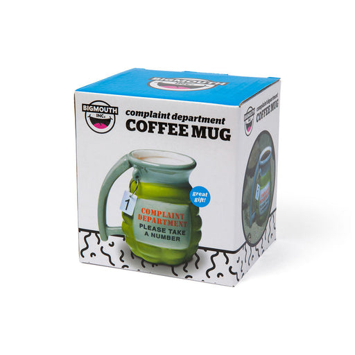 BigMouth Grenade Mug - Take A Number | Cookie Jar - Home of the Coolest Gifts, Toys & Collectables
