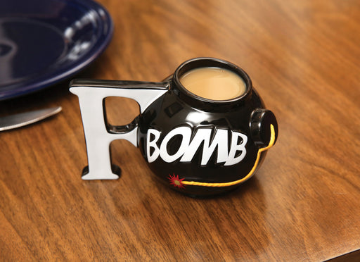 BigMouth F-Bomb Coffee Mug | Cookie Jar - Home of the Coolest Gifts, Toys & Collectables