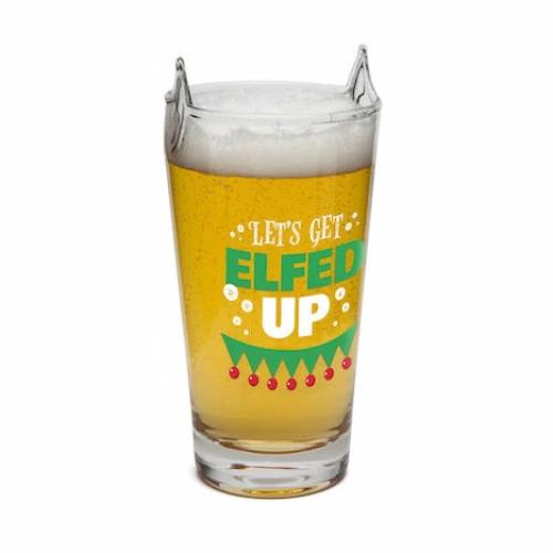 BigMouth - Elfed Up Beer Glass | Cookie Jar - Home of the Coolest Gifts, Toys & Collectables