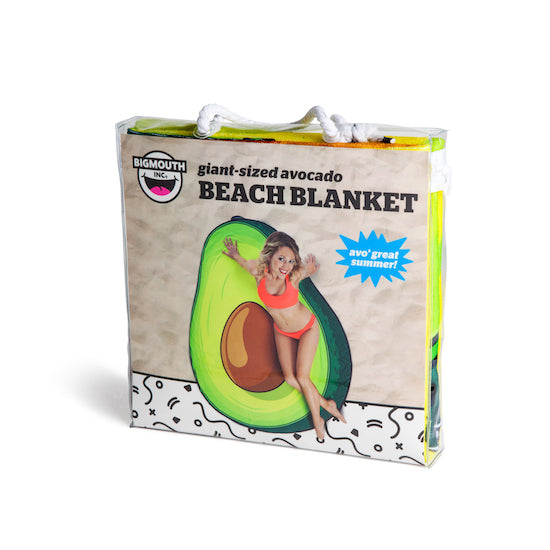 BigMouth Gigantic Avocado Beach Blanket | Cookie Jar - Home of the Coolest Gifts, Toys & Collectables