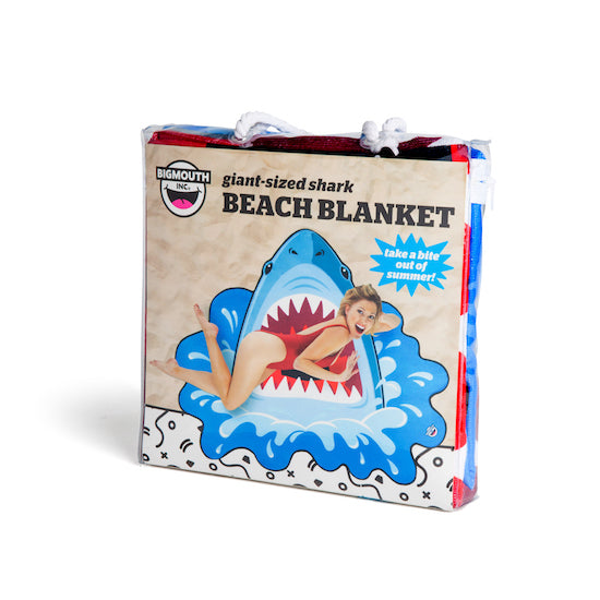 BigMouth Gigantic Shark Beach Blanket | Cookie Jar - Home of the Coolest Gifts, Toys & Collectables