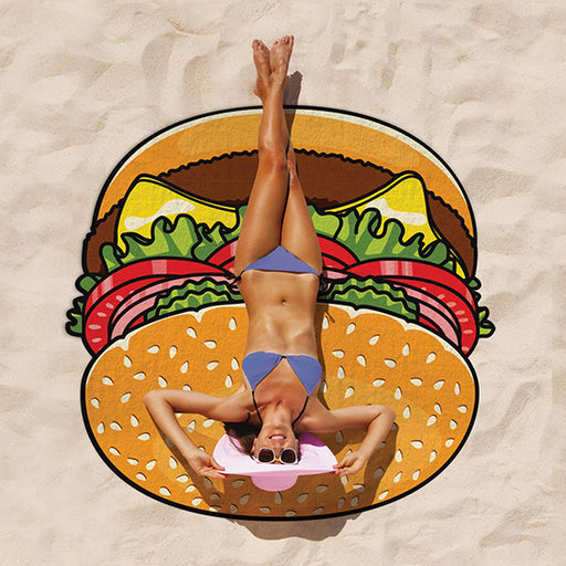 BigMouth Gigantic Burger Beach Blanket | Cookie Jar - Home of the Coolest Gifts, Toys & Collectables