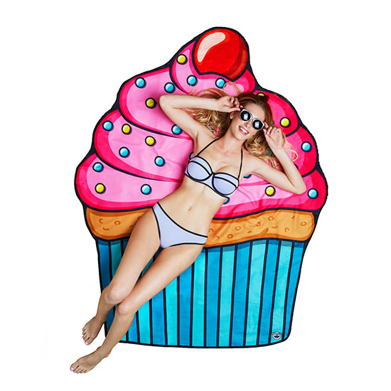 BigMouth Gigantic Cupcake Beach Blanket | Cookie Jar - Home of the Coolest Gifts, Toys & Collectables