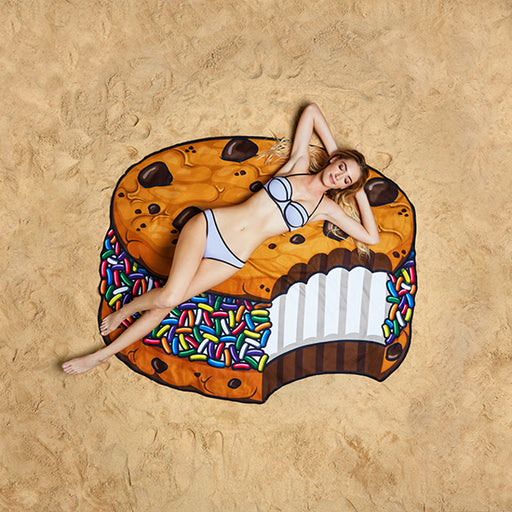 BigMouth Gigantic Ice Cream Sandwich Beach Blanket | Cookie Jar - Home of the Coolest Gifts, Toys & Collectables