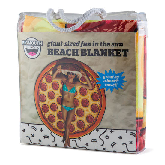 BigMouth Gigantic Pizza Beach Blanket | Cookie Jar - Home of the Coolest Gifts, Toys & Collectables