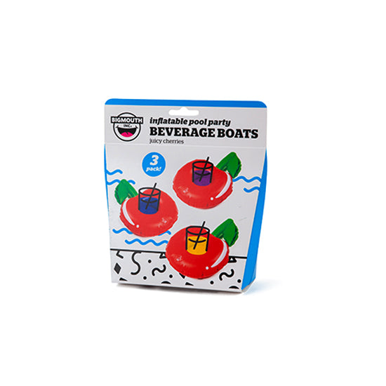 BigMouth Pool Party Beverage Boats (Cherries) | Cookie Jar - Home of the Coolest Gifts, Toys & Collectables