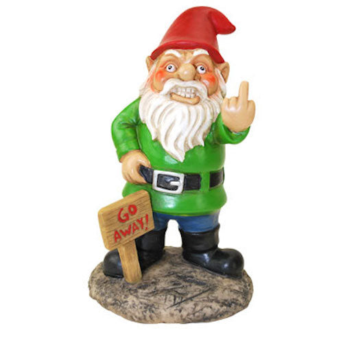 BigMouth Go Away Gnome! | Cookie Jar - Home of the Coolest Gifts, Toys & Collectables