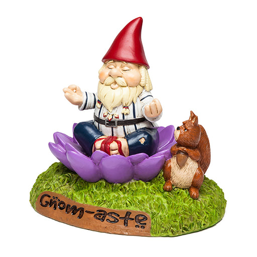 BigMouth - The 'Gnome-aste Meditating Garden Gnome | Cookie Jar - Home of the Coolest Gifts, Toys & Collectables