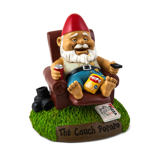 BigMouth The Couch Potato Garden Gnome | Cookie Jar - Home of the Coolest Gifts, Toys & Collectables