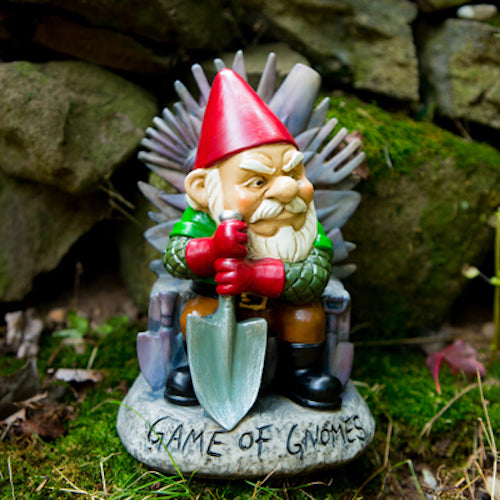 BigMouth Game Of Gnomes Garden Gnome | Cookie Jar - Home of the Coolest Gifts, Toys & Collectables