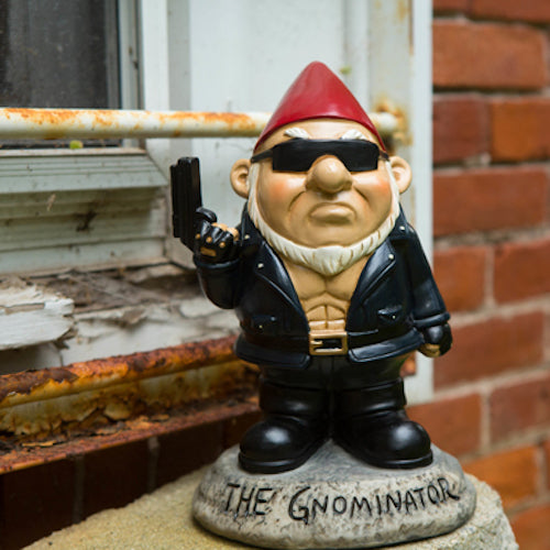BigMouth The Gnominator Garden Gnome | Cookie Jar - Home of the Coolest Gifts, Toys & Collectables