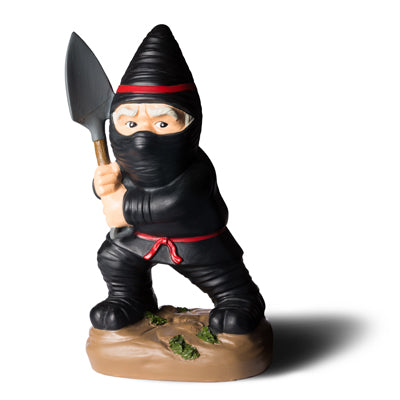 BigMouth The Ninja Garden Gnome | Cookie Jar - Home of the Coolest Gifts, Toys & Collectables