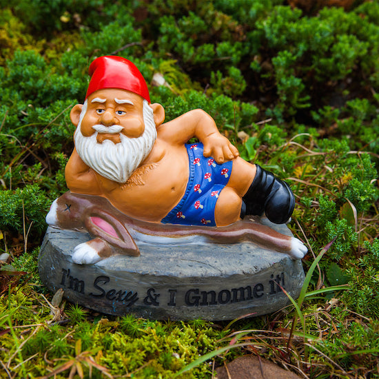 BigMouth The Hot Stuff Garden Gnome | Cookie Jar - Home of the Coolest Gifts, Toys & Collectables