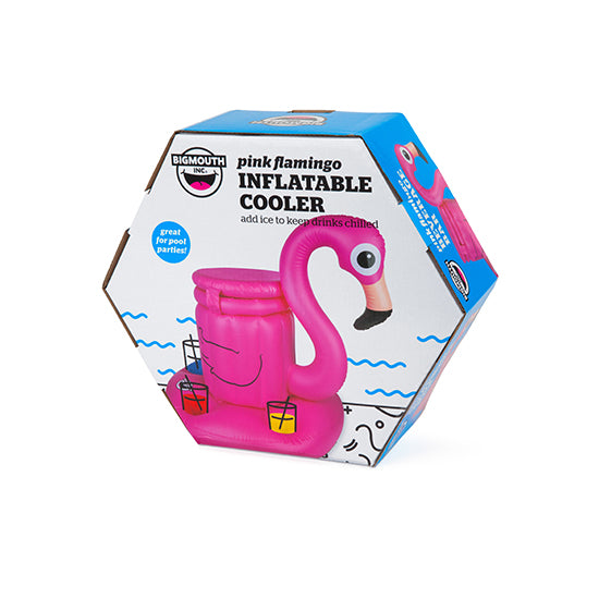 BigMouth Pink Flamingo Inflatable Cooler | Cookie Jar - Home of the Coolest Gifts, Toys & Collectables