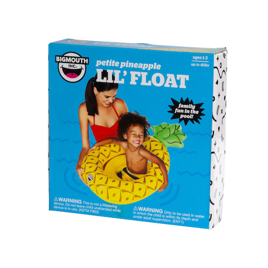 BigMouth Lil' Pineapple Float | Cookie Jar - Home of the Coolest Gifts, Toys & Collectables