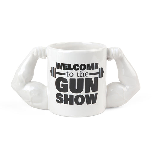 BigMouth The Gun Show Mug | Cookie Jar - Home of the Coolest Gifts, Toys & Collectables