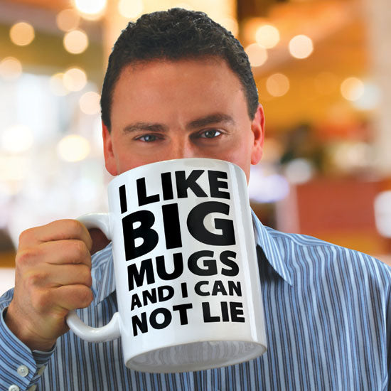 BigMouth I like Big Mugs GIANT Mug | Cookie Jar - Home of the Coolest Gifts, Toys & Collectables