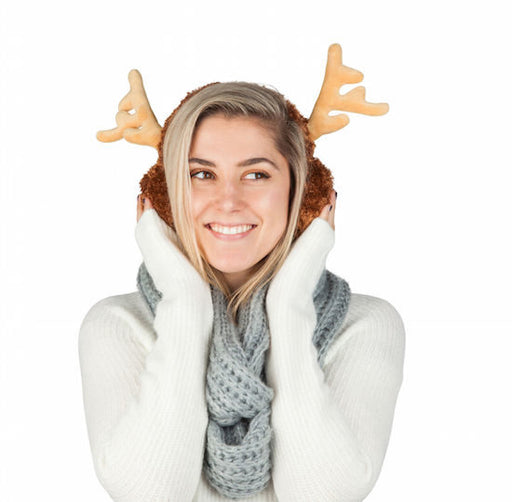 BigMouth - Reindeer Ear Muffs | Cookie Jar - Home of the Coolest Gifts, Toys & Collectables